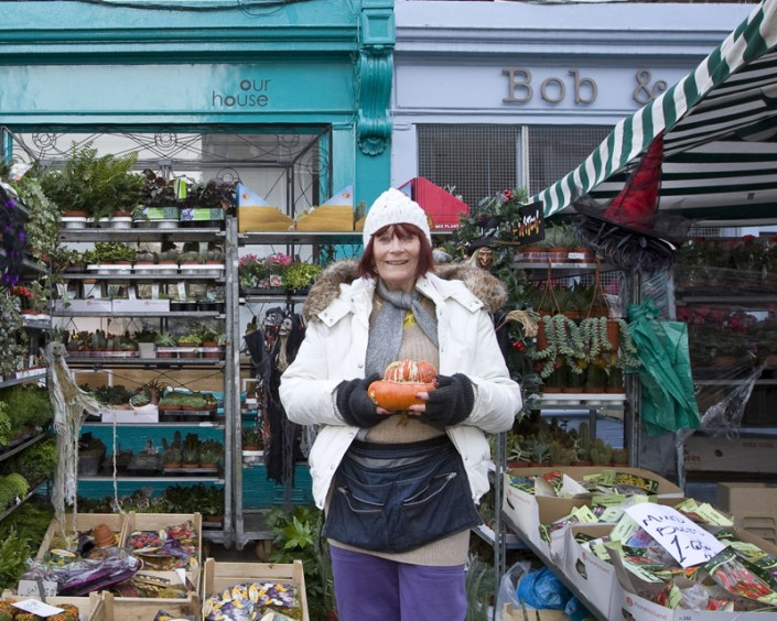 Columbia Road Market Portraits